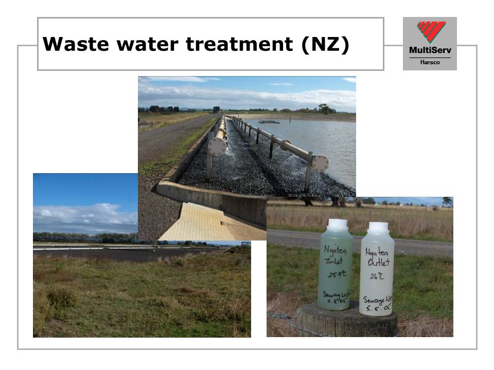 Waste water treatment (NZ)