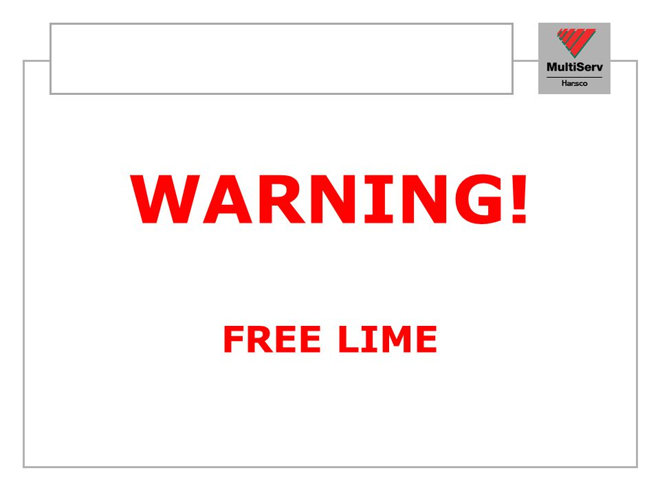 WARNING! FREE LIME