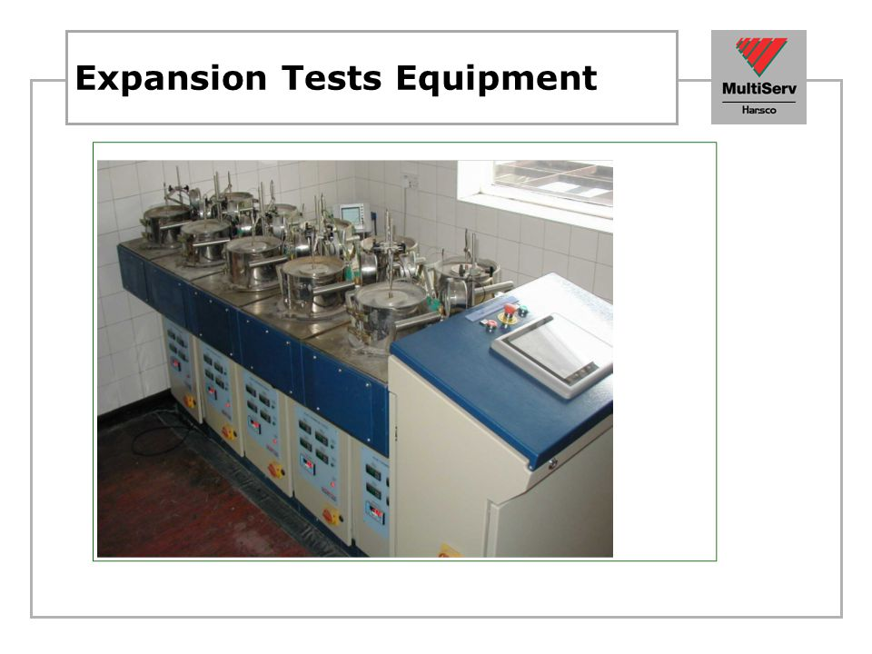 Expansion Tests Equipment