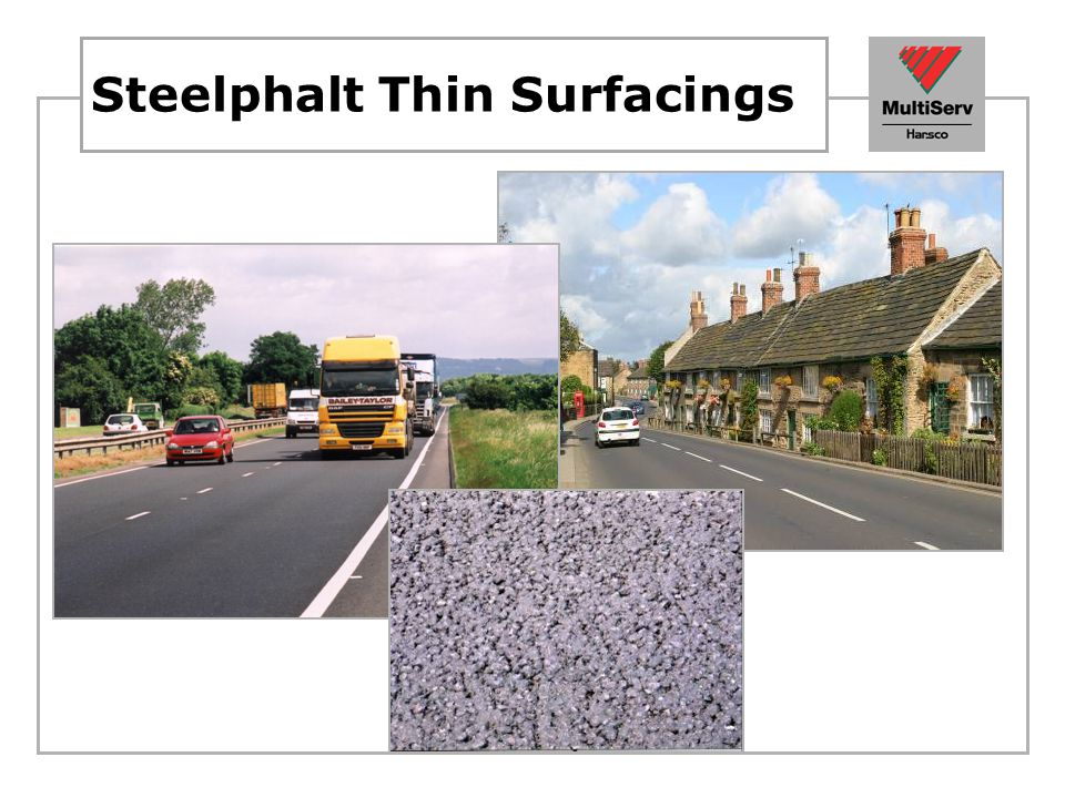 Steelphalt Thin Surfacings