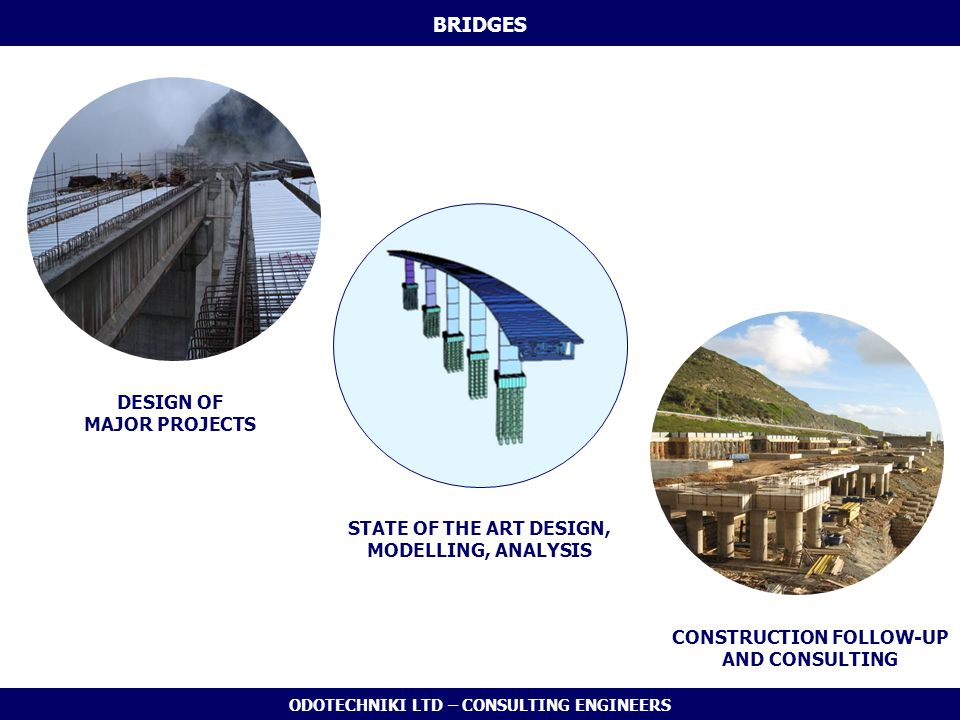 BRIDGES DESIGN OF MAJOR PROJECTS