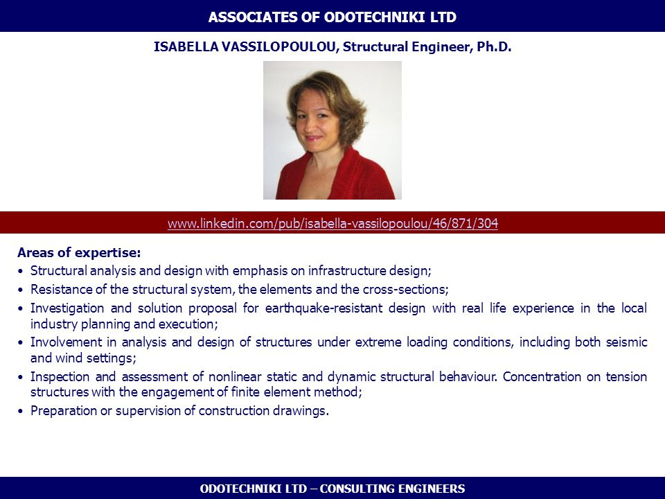 ASSOCIATES OF ODOTECHNIKI LTD