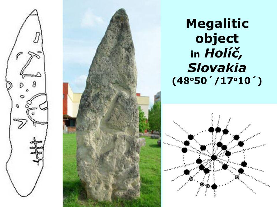 Megalitic object in Holíč, Slovakia (48o50´/17o10´)