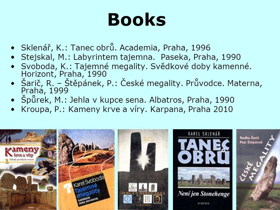 Books Sklenář, K.: Tanec obrů. Academia, Praha, 1996