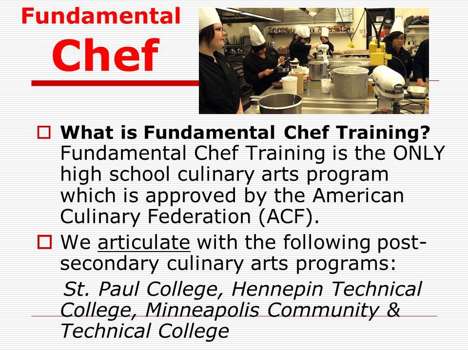 Fundamental Chef