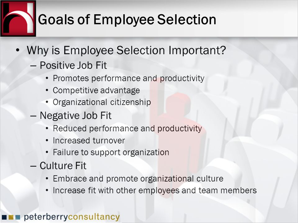 Goals of Employee Selection