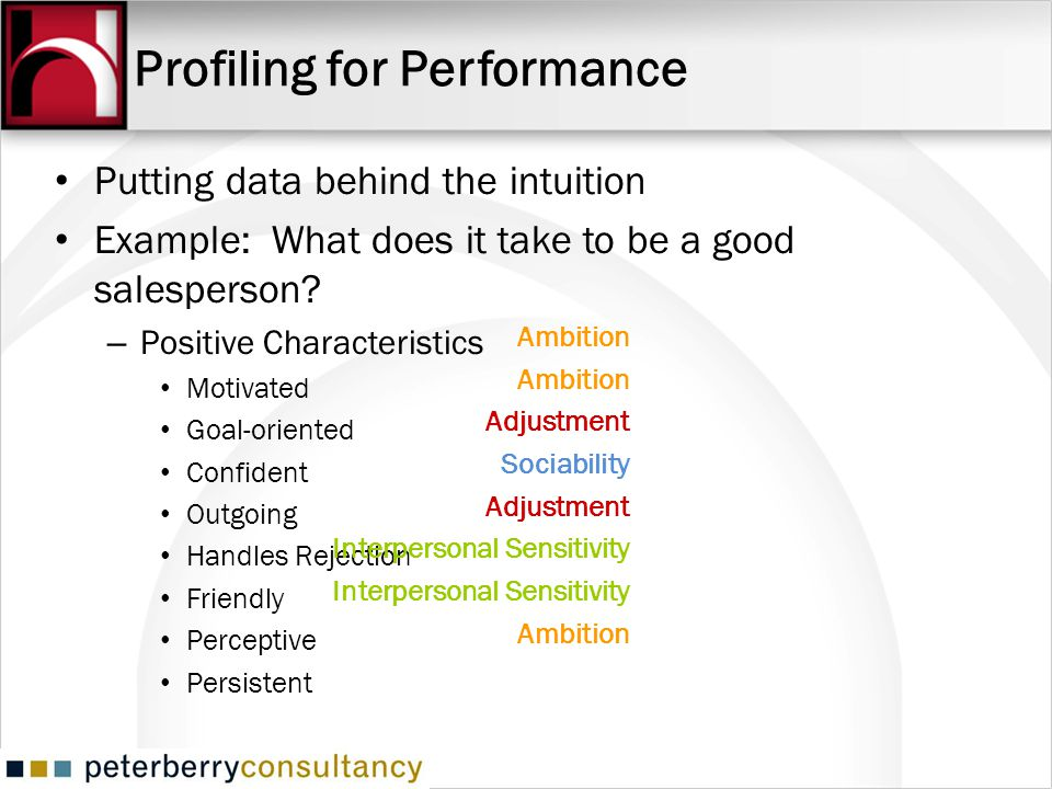 Profiling for Performance