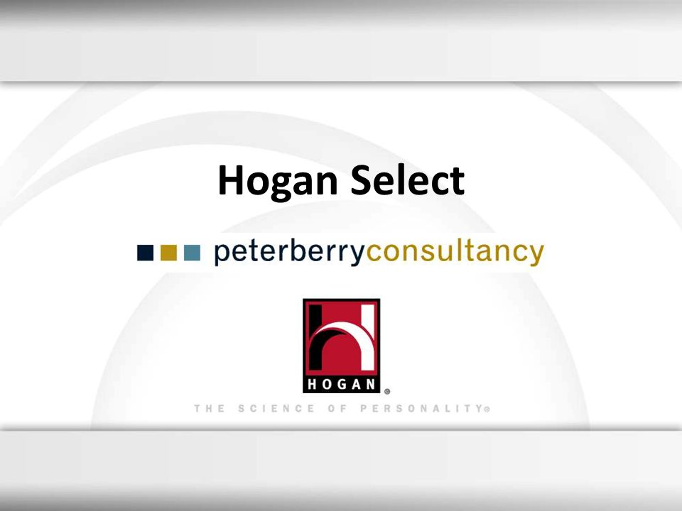 Hogan Select 8