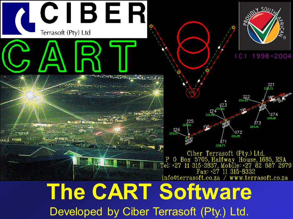 The CART Software Developed by Ciber Terrasoft (Pty.) Ltd.