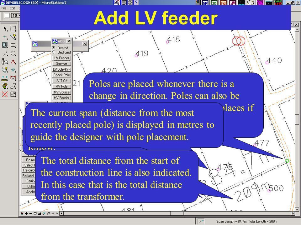 Add LV feeder