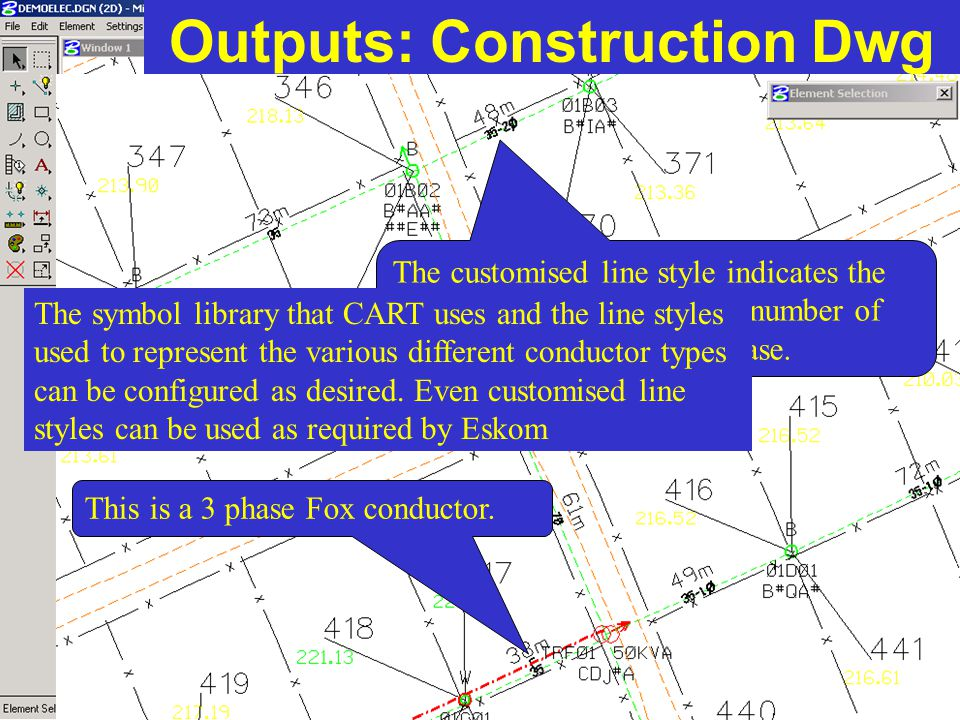 Outputs: Construction Dwg