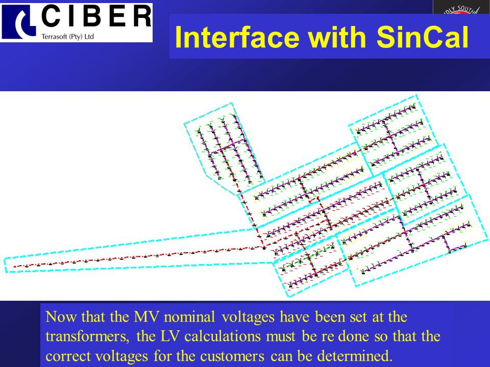 Interface with SinCal