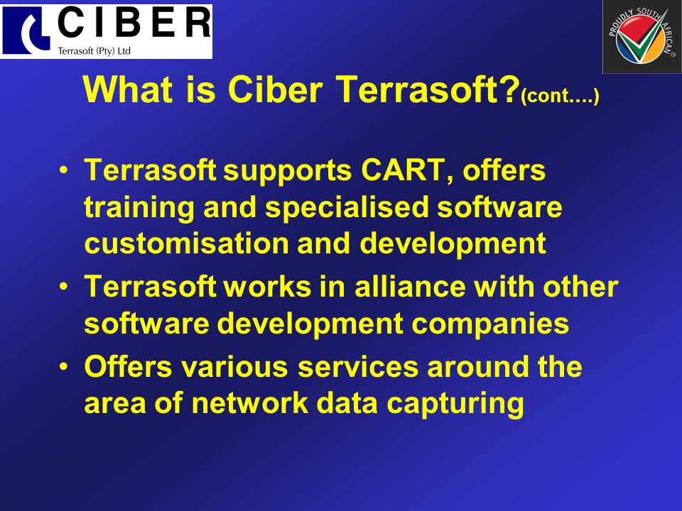 What is Ciber Terrasoft (cont….)