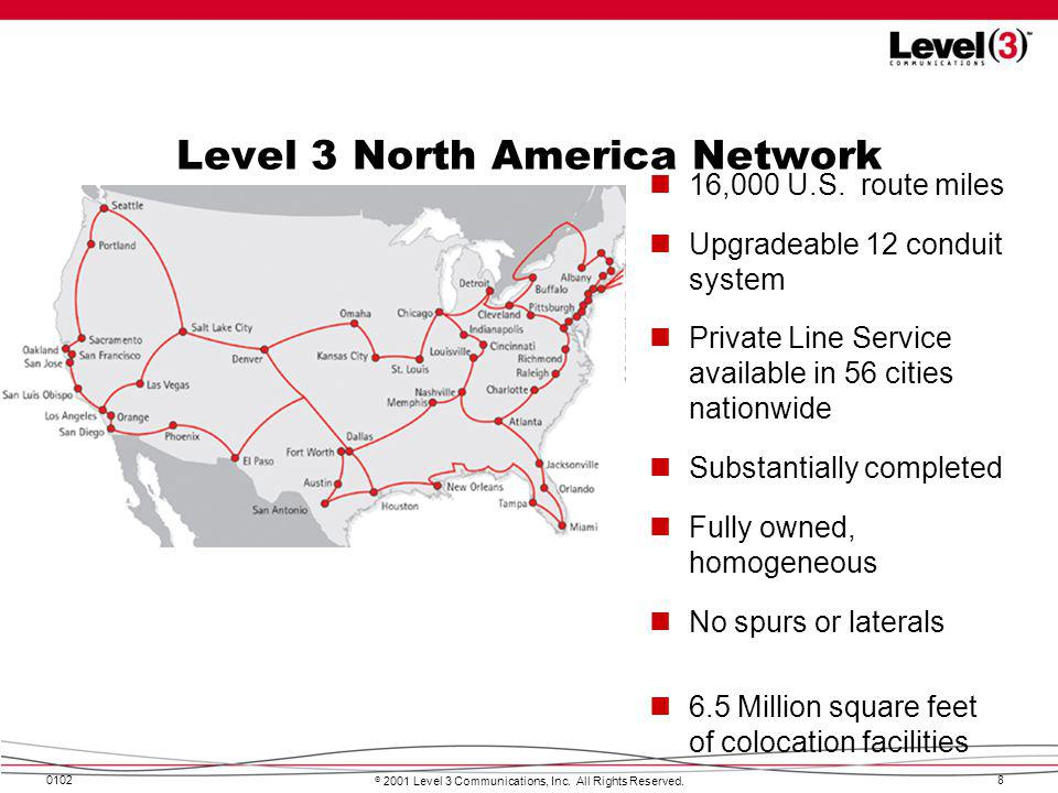 Level 3 North America Network