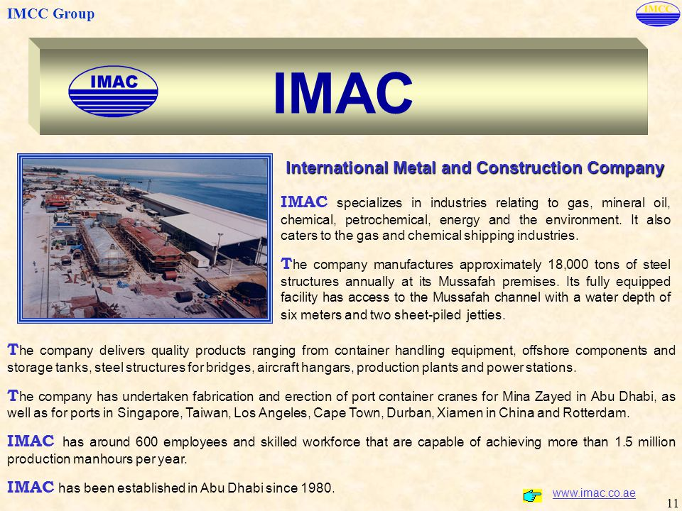 IMAC International Metal and Construction Company