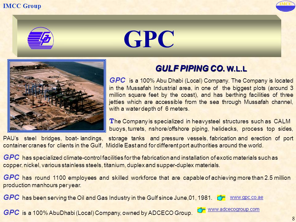 GPC GULF PIPING CO. W.L.L.