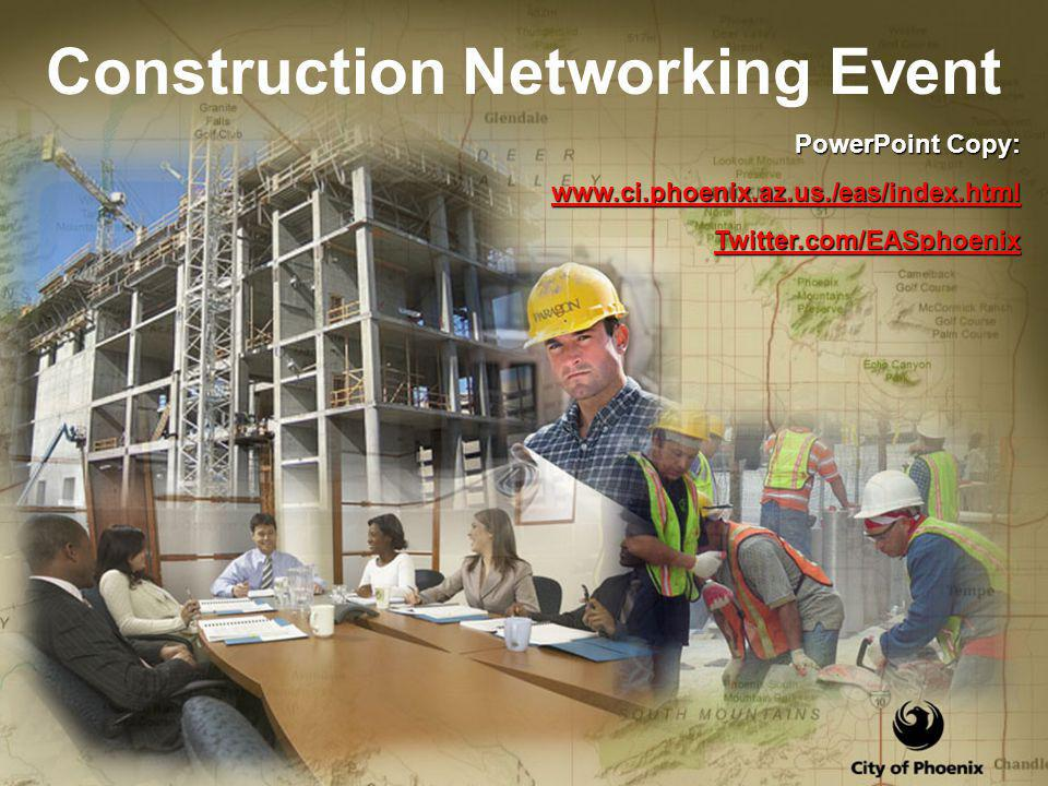 Construction Networking Event