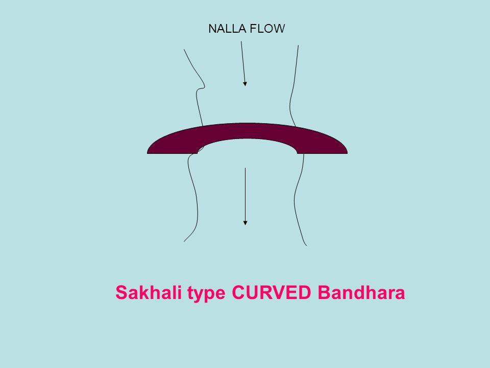 Sakhali type CURVED Bandhara