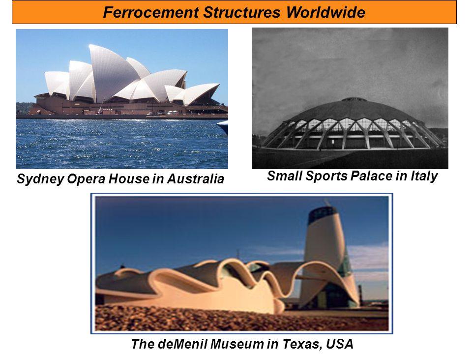Ferrocement Structures Worldwide