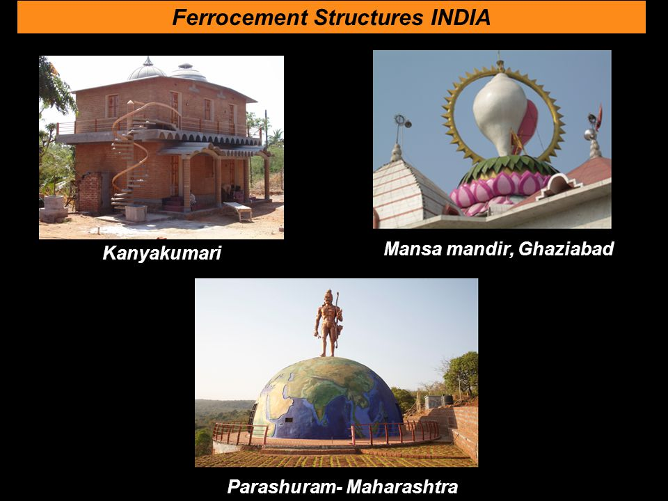 Ferrocement Structures INDIA