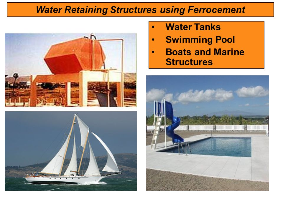 Water Retaining Structures using Ferrocement