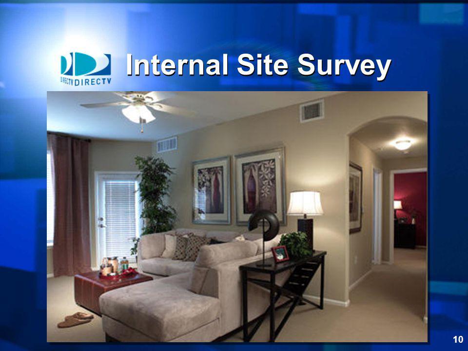 Internal Site Survey