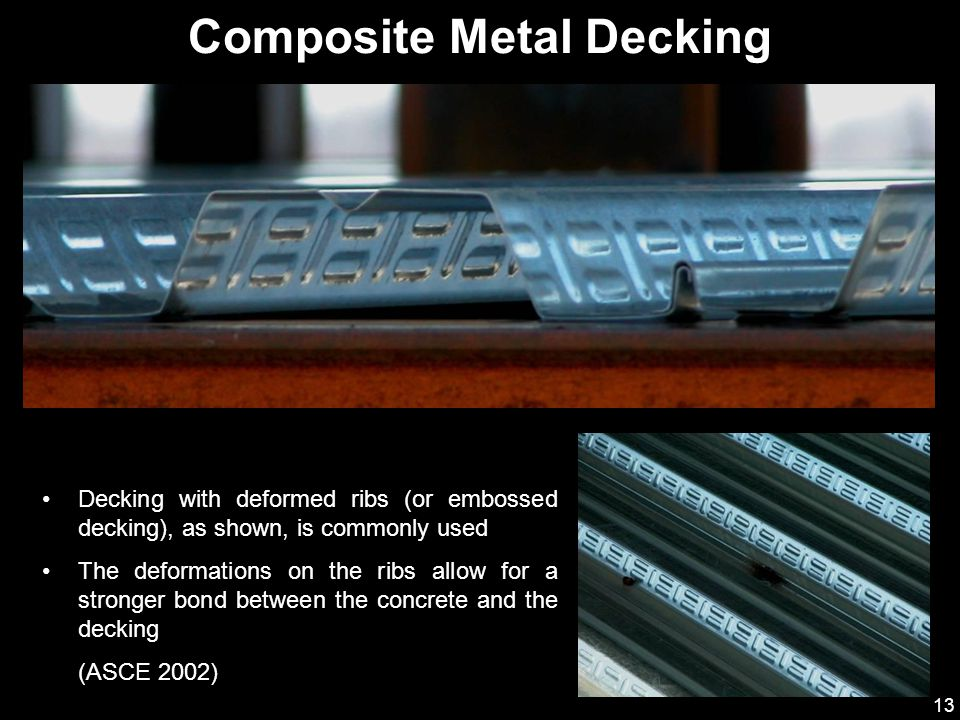 Composite Metal Decking