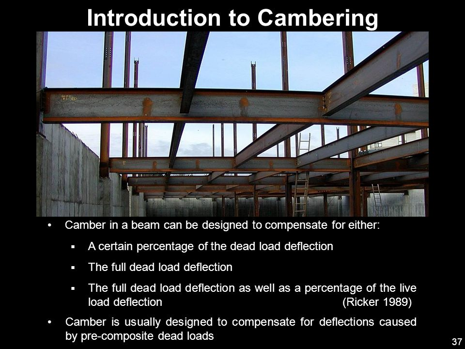 Introduction to Cambering