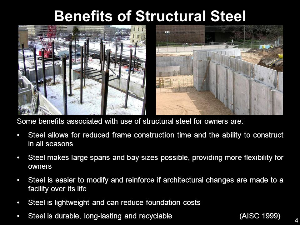 Benefits of Structural Steel
