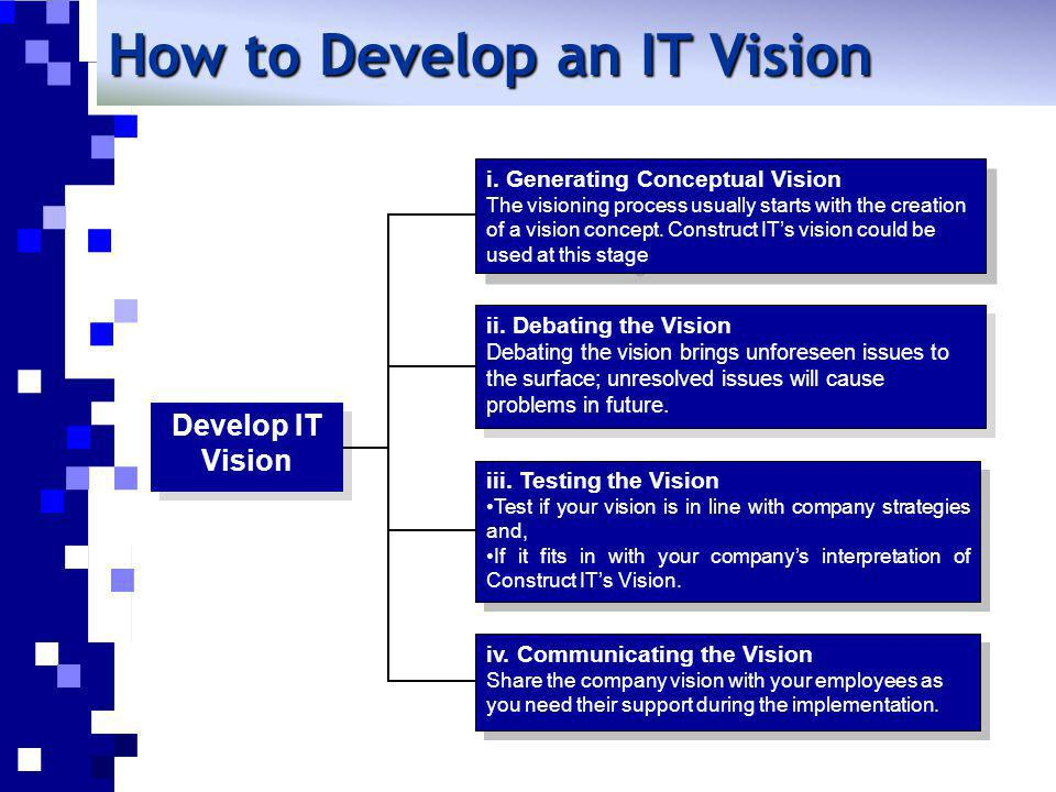 How to Develop an IT Vision