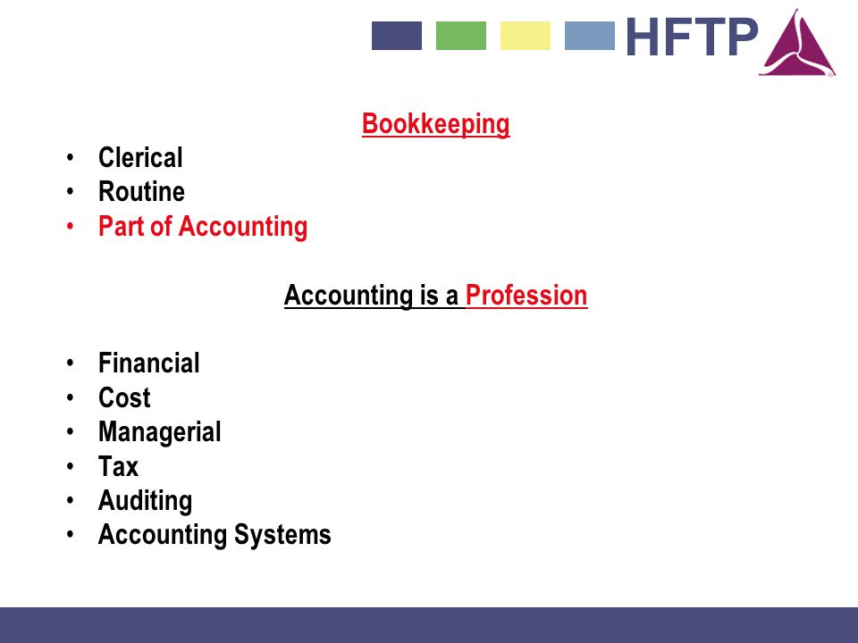 Accounting is a Profession