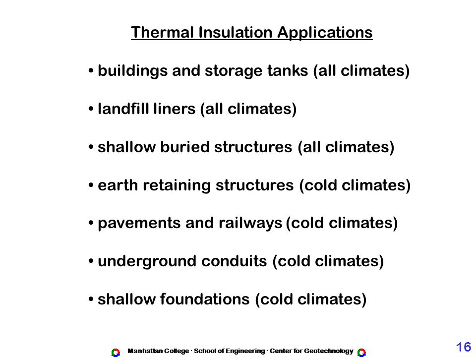 Thermal Insulation Applications