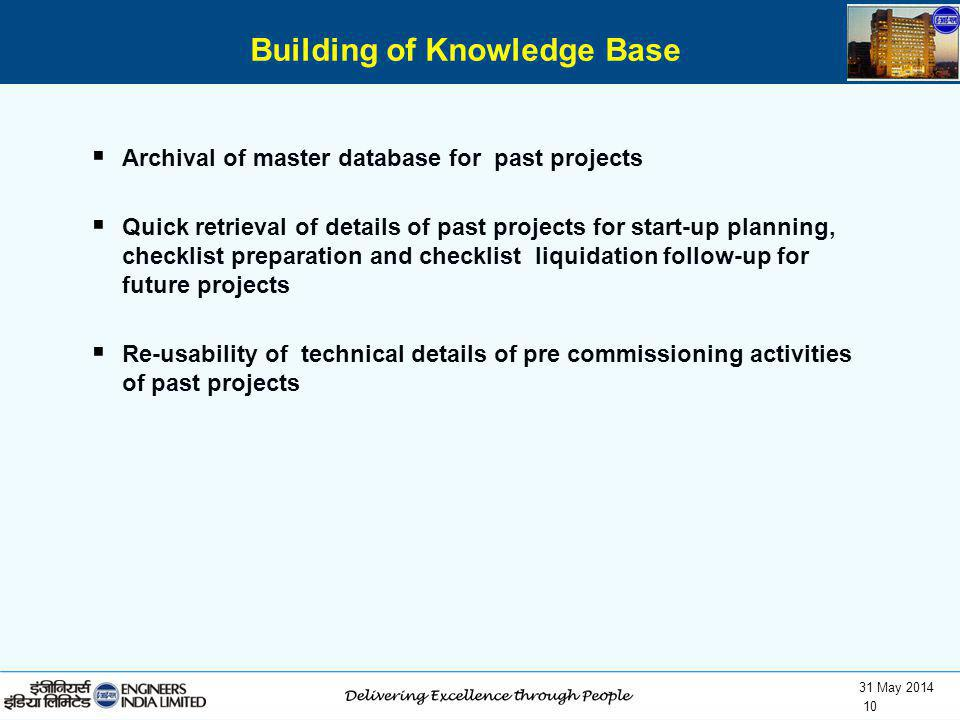 Building of Knowledge Base