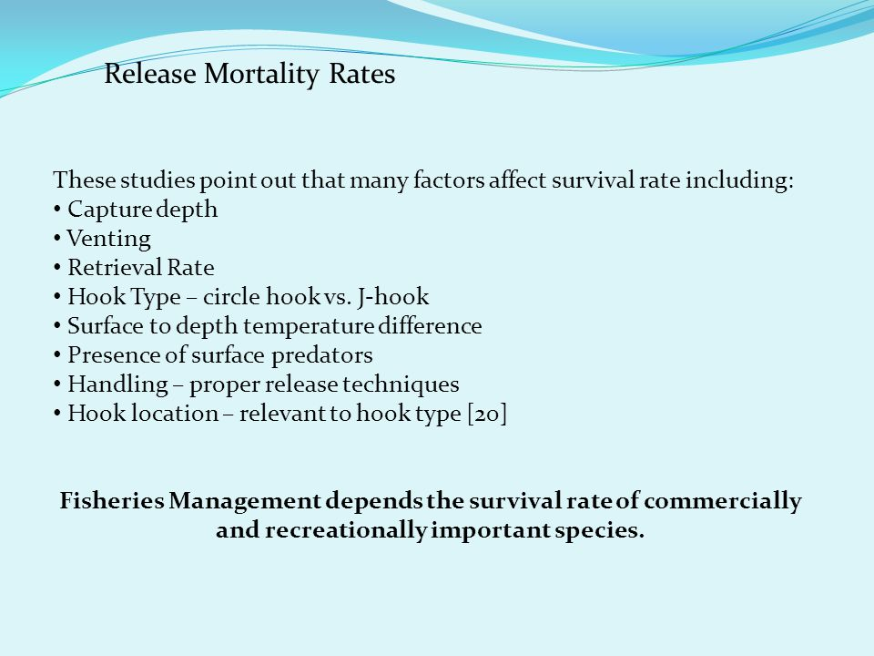 Release Mortality Rates