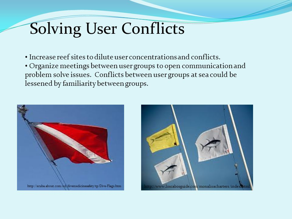 Solving User Conflicts