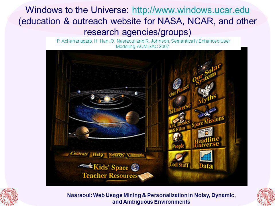 Windows to the Universe: http://www. windows. ucar