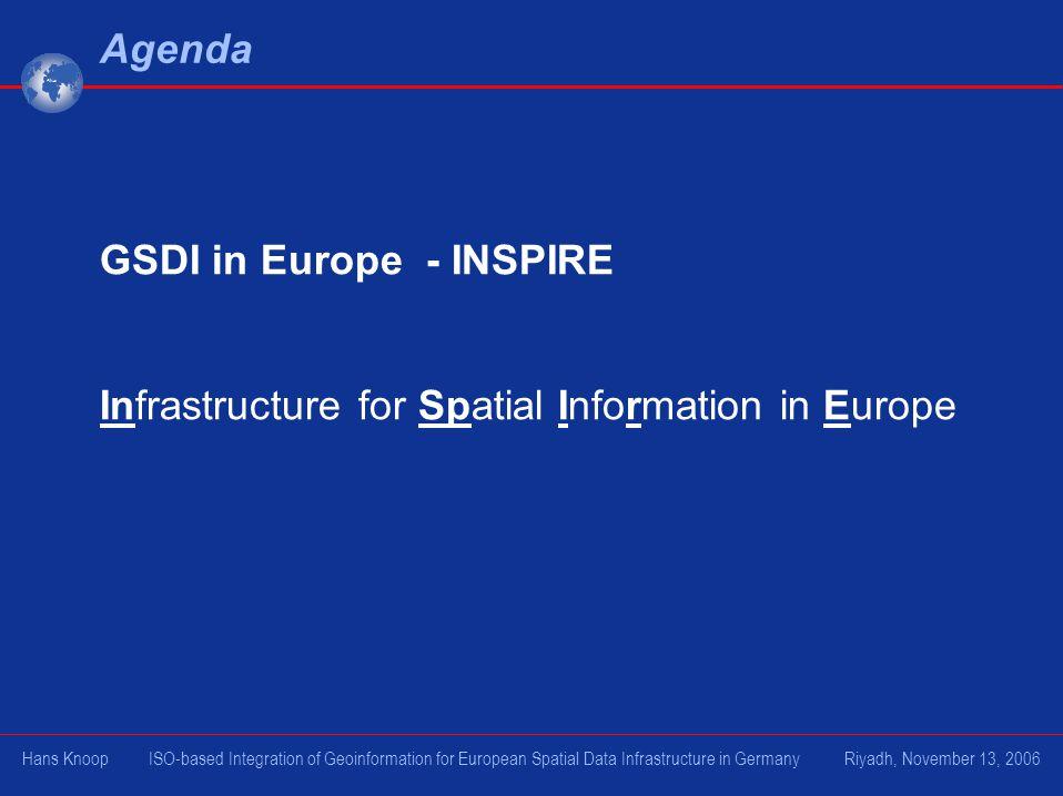 GSDI in Europe - INSPIRE