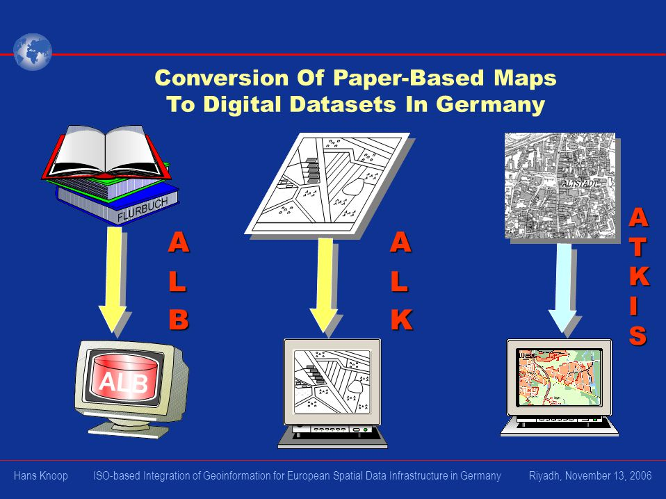Conversion Of Paper-Based Maps To Digital Datasets In Germany