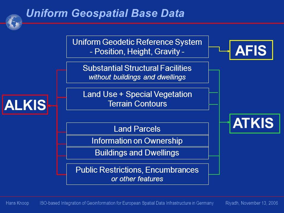 Uniform Geospatial Base Data