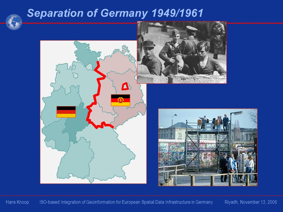 Separation of Germany 1949/1961