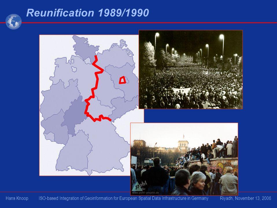 Reunification 1989/1990