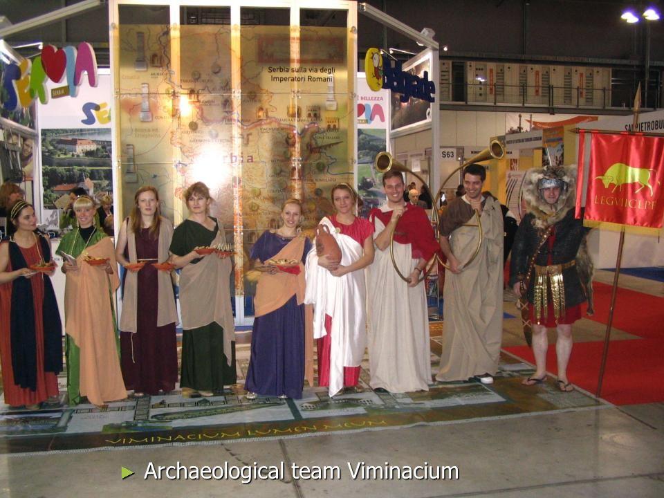 Archaeological team Viminacium