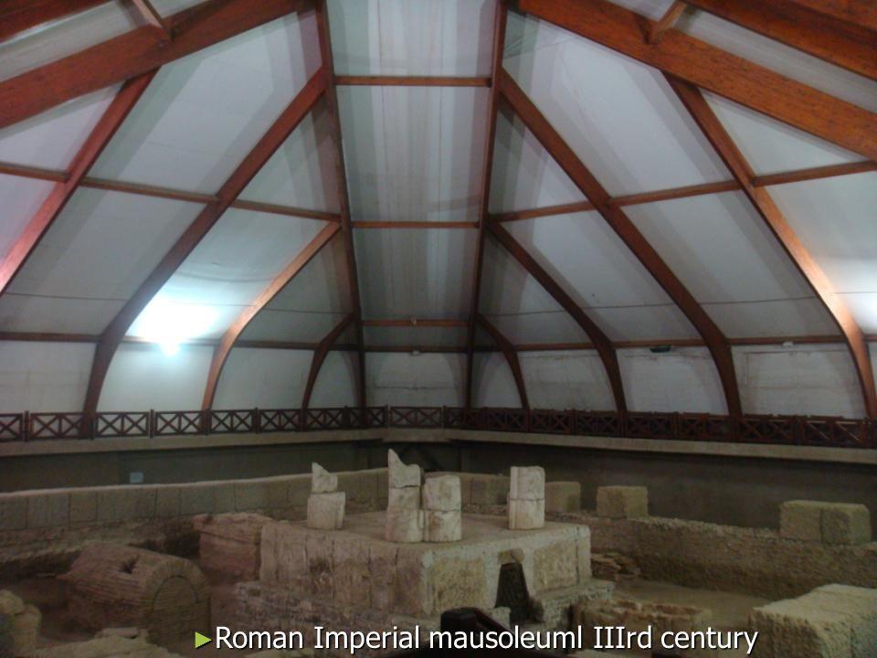 Roman Imperial mausoleuml IIIrd century