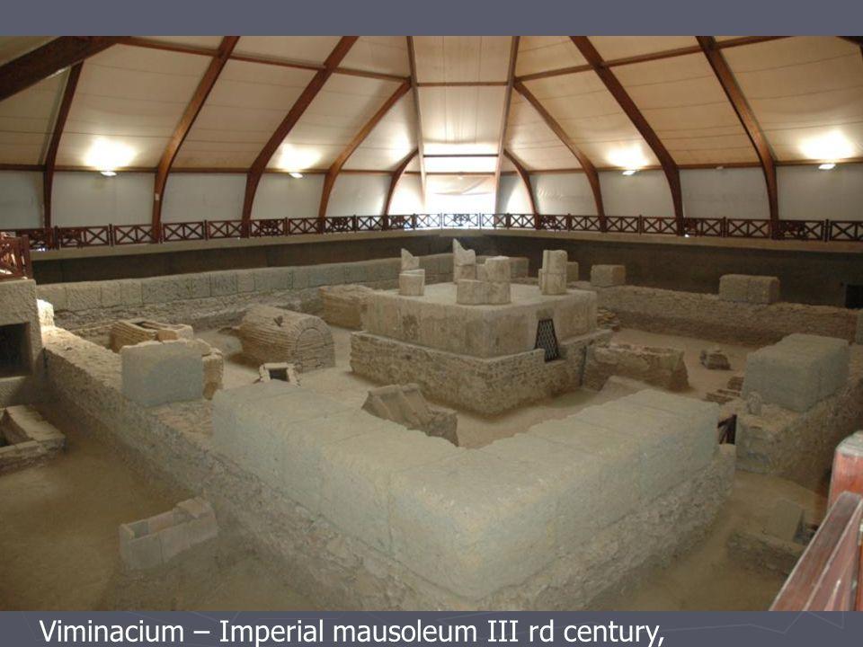 Viminacium – Imperial mausoleum III rd century,