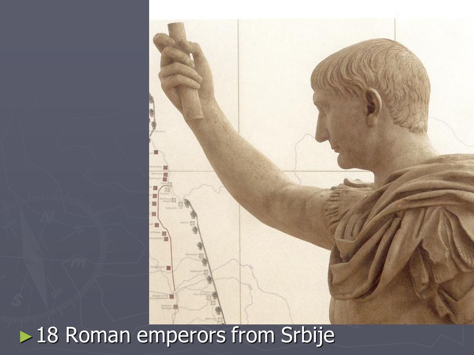 18 Roman emperors from Srbije