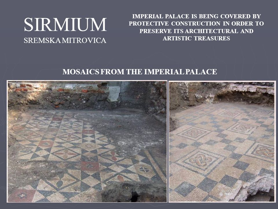 MOSAICS FROM THE IMPERIAL PALACE