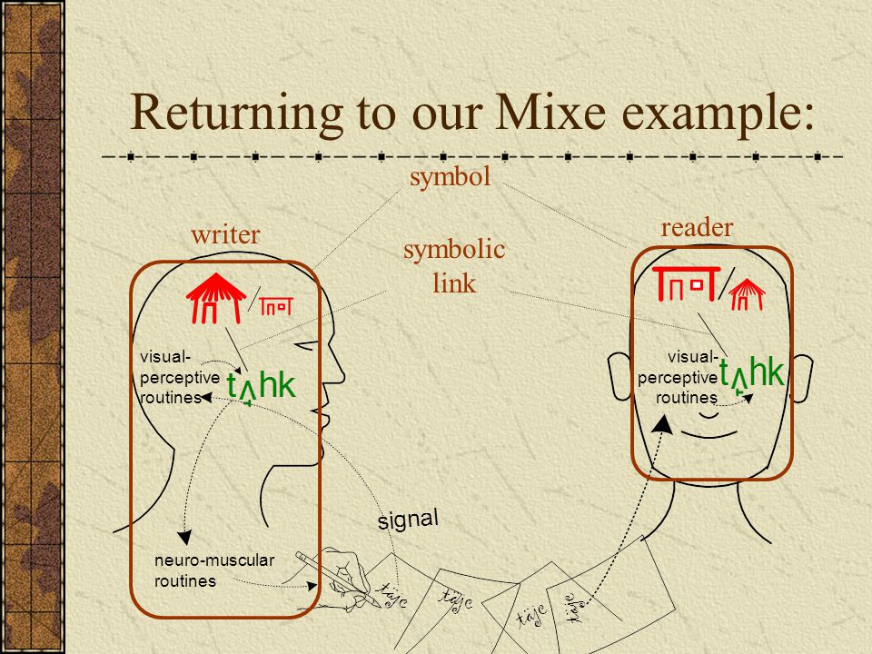 Returning to our Mixe example: