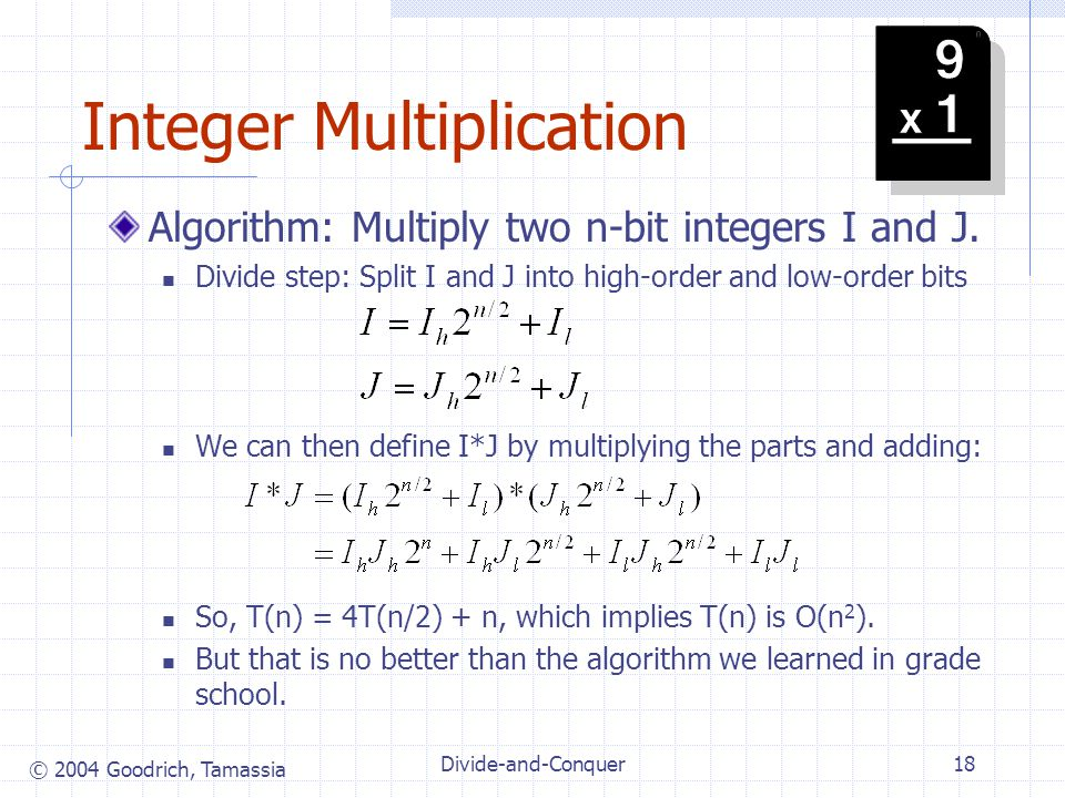 Integer Multiplication