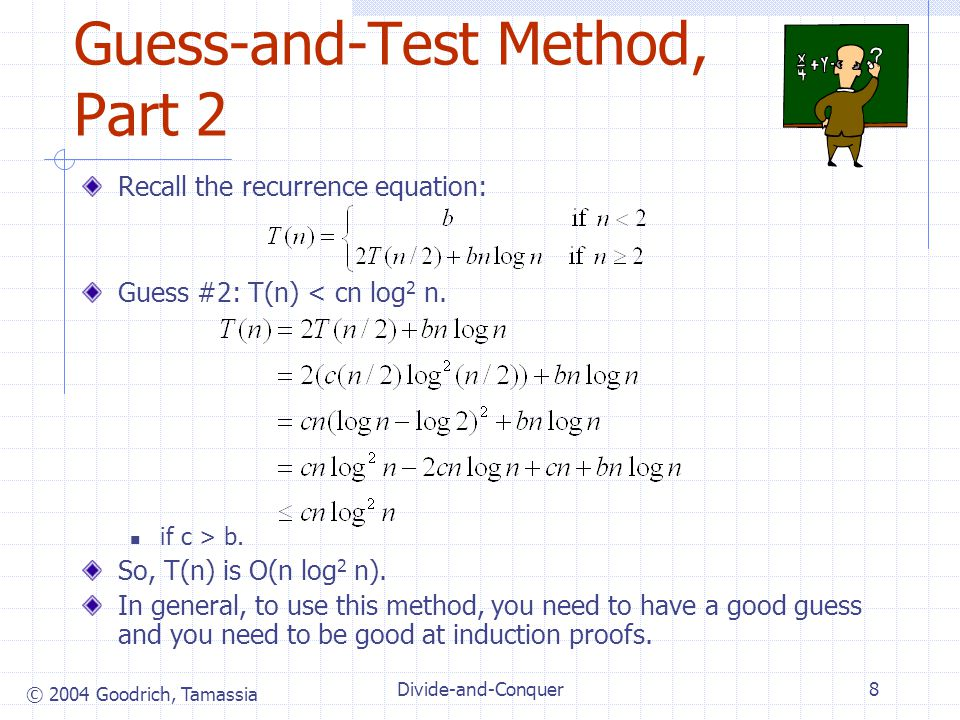 Guess-and-Test Method, Part 2