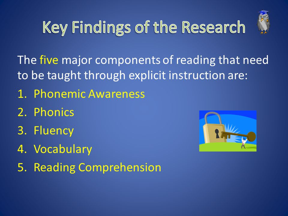 Key Findings of the Research